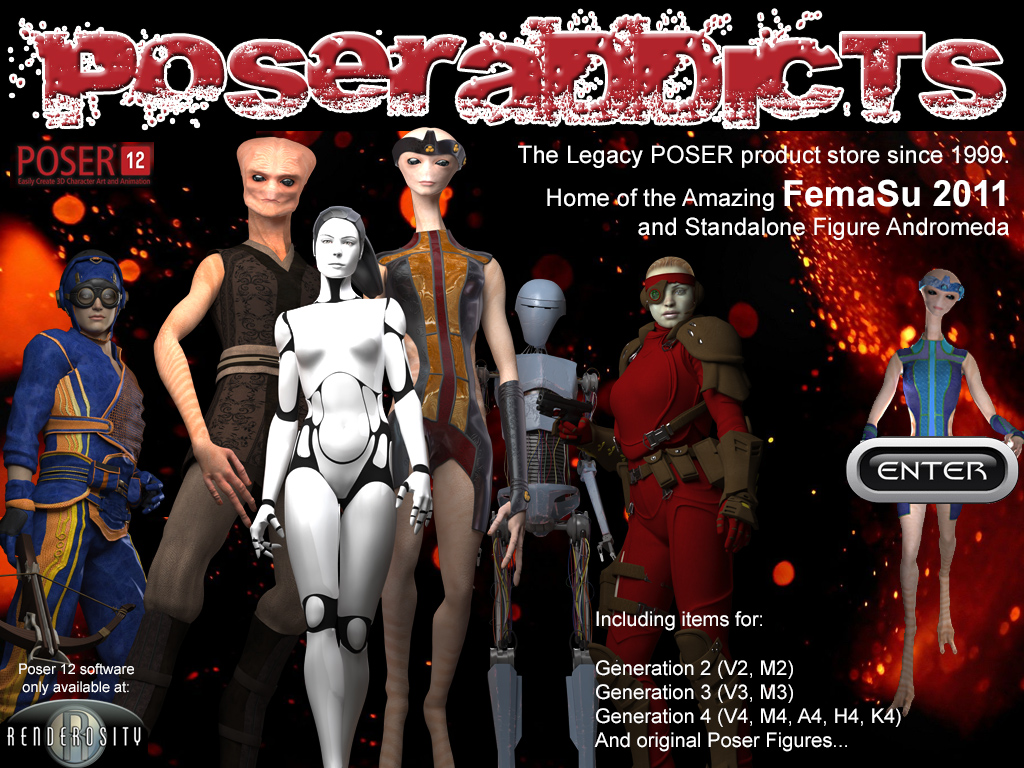 PoserAddicts II - Your Place for Everything Poser & Daz Studio!